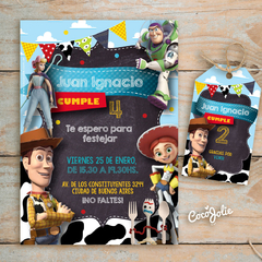 Kit Toy Story. Imprimible Personalizable - comprar online