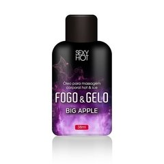 Fogo e Gelo Big apple - Gel Beijavel