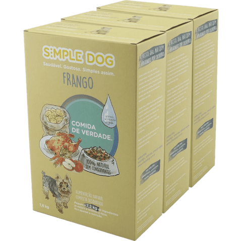 Combo Simple Dog Frango 5,4 kg