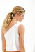 TOP SHOULDER LINO BLANCO en internet
