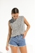 MUSCULOSA CHIARA GRIS WAFFLE - buy online