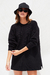 SWEATER OVERSIZE ROXY NEGRO