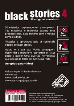Black Stories 4 - comprar online