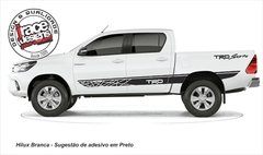 Faixa Lateral Kit Adesivo Toyota Hilux - Mod. TRD Sports - comprar online
