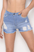 Short jean con rotura Génova 7191 art 170108
