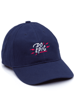 GORRA DAD HAT - DO EPIC - AZUL