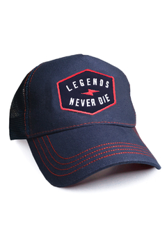 GORRA TRUCKER VINTAGE - LEGENDS - AZUL