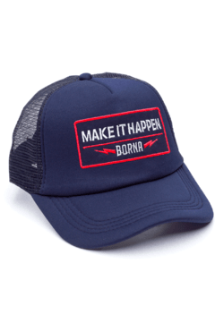 GORRA TRUCKER -  MAKE IT HAPPEN AZUL - AZUL FULL