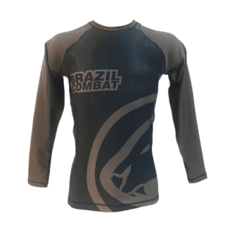 Rash Guard Jaguar Marrom na internet
