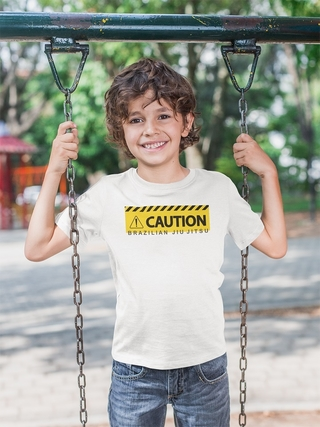 CAMISETA INFANTIL CAUTION