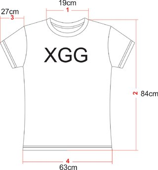 Camiseta Degradê - XGG (Exclusiva on Line) - comprar online