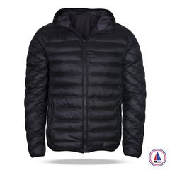 Campera XR-1 Negra Reversible Chapelle Negro/Blanco Abugosh - comprar online