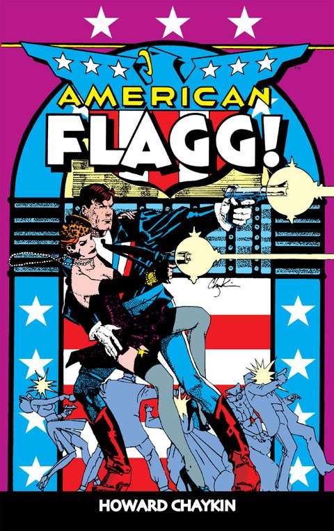 Amercian Flagg!, de Howard Chaykin