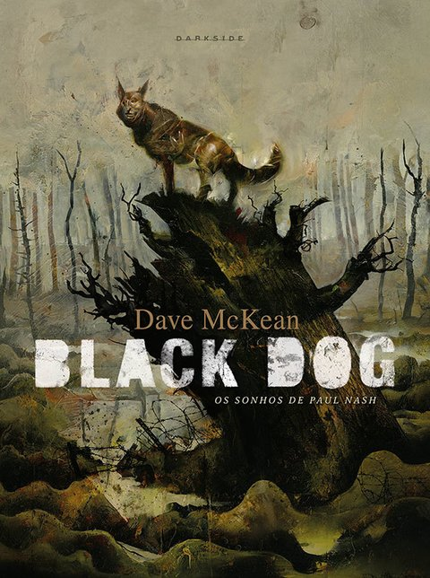 Black Dog – Os sonhos de Paul Nash, de Dave McKean