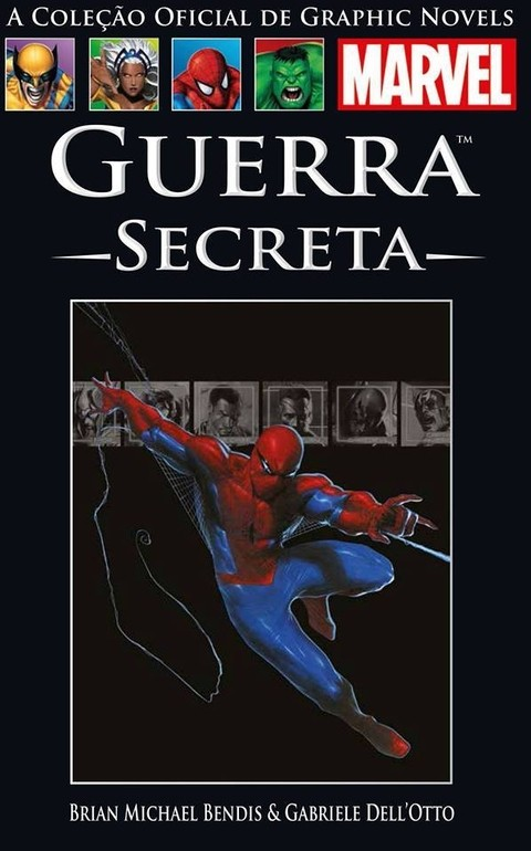 Coleção Oficial de Graphic Novels Marvel vol. 33: Guerra Secreta, de Brain Michael Bendis