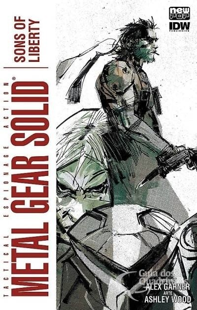Metal Gear Solid Vol.2: Sons of Liberty, de  Alex Garner e Ashley Wood