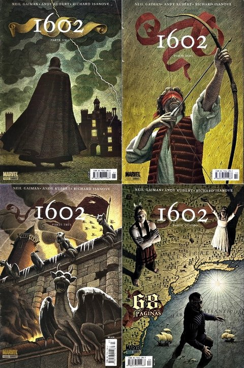 Pack 1602, de   Neil Gaiman