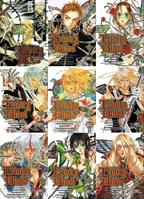 Trinity Blood - Pack vol 1 a 13