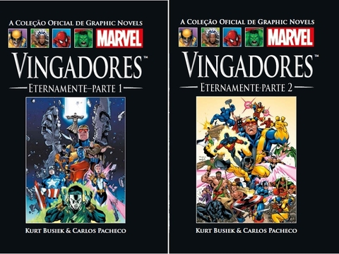 Coleção Salvat Marvel: Vingadores Eternamente Vol. 1 on internet