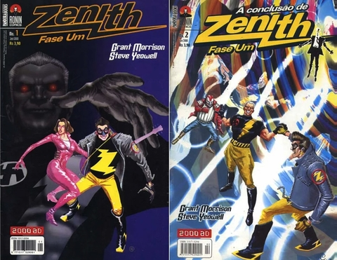 Pack Zenith vol 1 e 2, de Grant Morisson