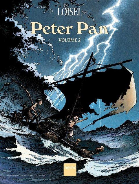 Peter Pan - Volume 2, de Loisel
