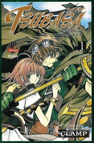 Tsubasa Reservoir Chronicles vol 1, CLAMP