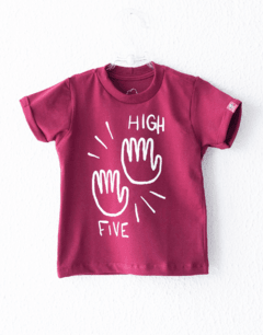 CAMISETA MANGA CURTA - HIGH FIVE BD