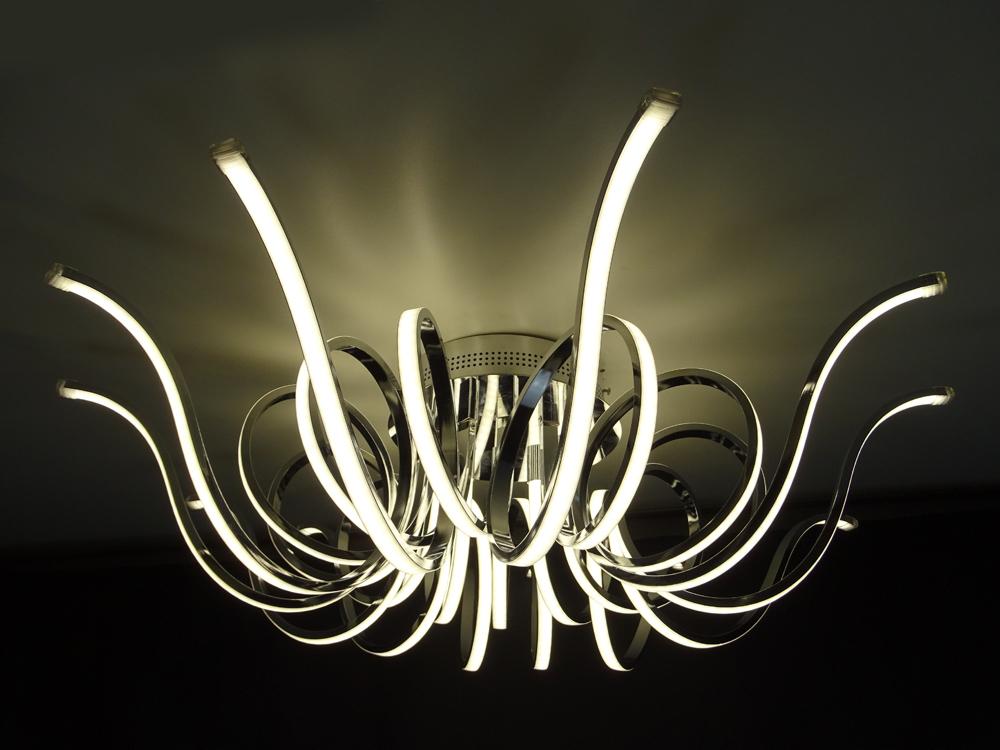 Lustre Plafon LED Medusa Moderno para Quarto e Hall de Entrada