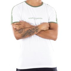 T-SHIRT SLIM CHANGES GREEN