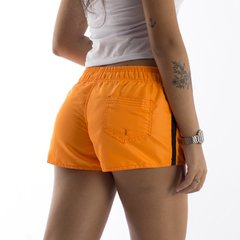 SHORT FEMININO ORANGE NEON na internet