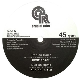 "10"" Dixie Peach/Ras Telford - Trod On Home/Sons Of Nansa [NM]"