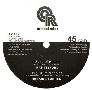 "10"" Dixie Peach/Ras Telford - Trod On Home/Sons Of Nansa [NM] - comprar online"
