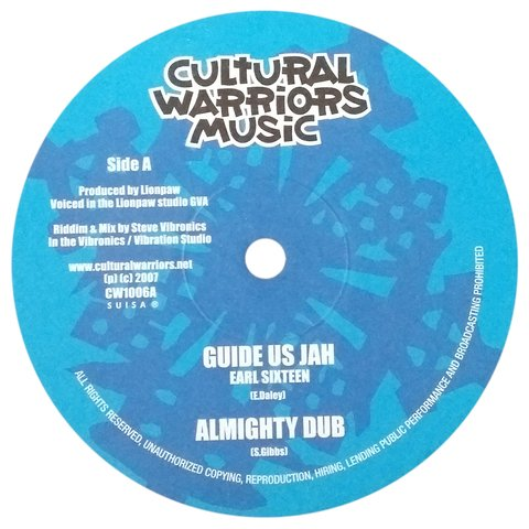 "10"" Earl 16/Vibronics - Guide Us Jah/Almighty Strings [VG]"