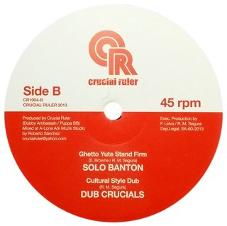 "10"" Jah Rueben Mystic/Solo Banton - Give Thanks and Praises/Ghetto Yute Stand Firm [NM]"