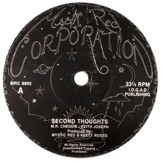 "10"" Keety Roots & Mystic Red - Second Thoughts/Ideas [VG]"