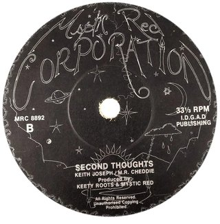 "10"" Keety Roots & Mystic Red - Second Thoughts/Ideas [VG] - comprar online"
