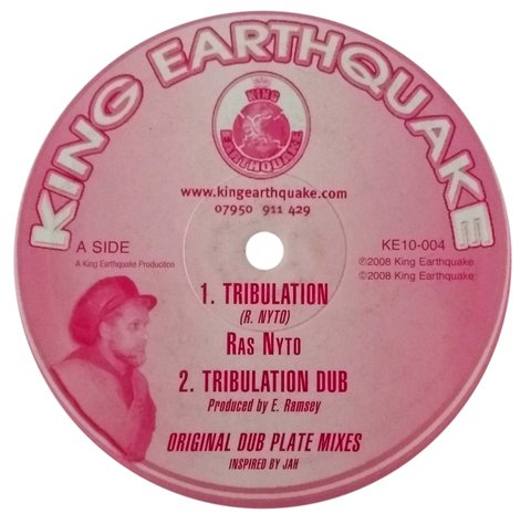 "10"" Ras Nyto - Tribulation/What a Joy [VG]"