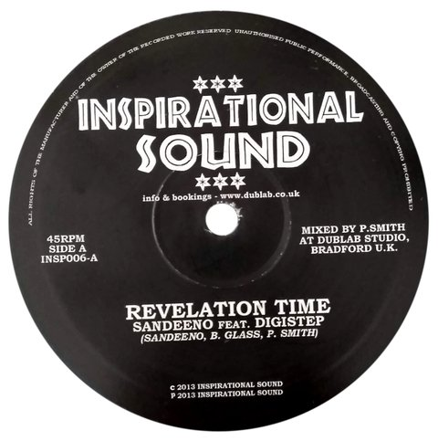 "10"" Sandeeno/Digistep - Revelation Time/Revelation Horns [VG+]"