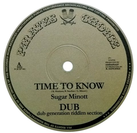 "10"" Sugar Minott/Benjammin - Time To Know/Real [NM]"
