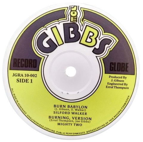 "10"" Sylford Walker - Burn Babylon/Jah Golden Pen [NM]"