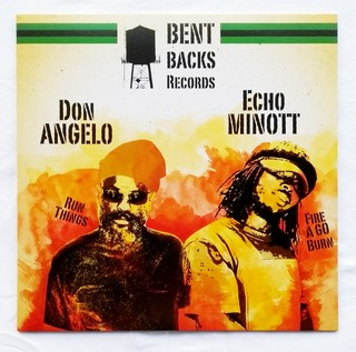"12"" Echo Minott/Don Angelo - Fire A Go Burn/Run Things [NM] na internet"