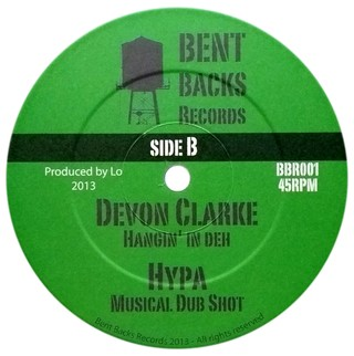 "12"" Johnny Osbourne/Devon Clarke - Can't Take The Pressure/Hangin' In Deh [NM]"