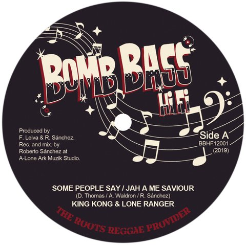 "12"" King Kong/Lone Ranger - Some People Say/Jah A Me Saviour [NM]"