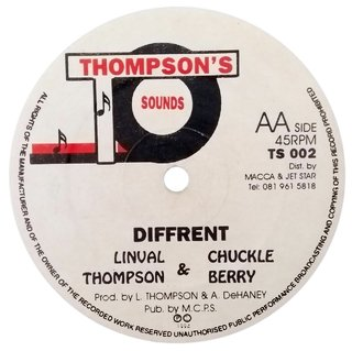 "12"" Linval Thompson - Little Way Different/Different [VG+] - comprar online"
