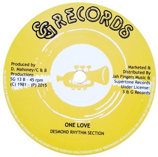 "12"" Nia & Natty - One Love Stylee/One Love [NM] - comprar online"