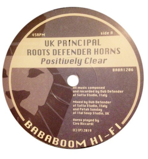 "12"" UK Principal/Prince Malachi - Positively Clear/Let Jah Love Come True [NM]"