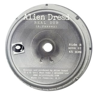 "7"" Alien Dread - Mexican Way/Real Dub [M] - comprar online"