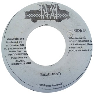 "7"" Beenie Man & Luciano - Crazy Baldhead/Version (Original Press) [VG] - comprar online"