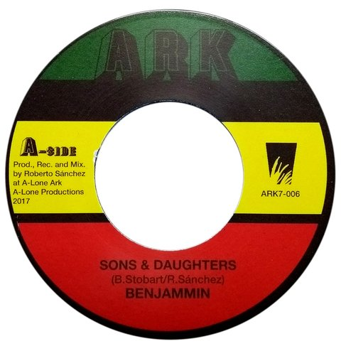 "7"" Benjammin - Sons & Daughters/Dub Version [NM]"