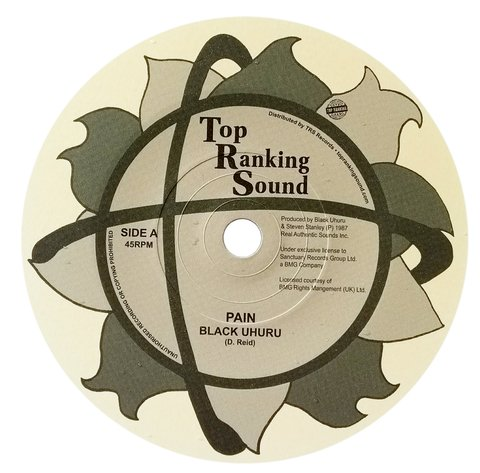 "7"" Black Uhuru - Pain/Version [NM]"